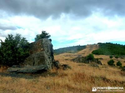 Cancho de la Cabeza;Senderismo gastronómico entresemana;puente almudena material trekking fotos sen